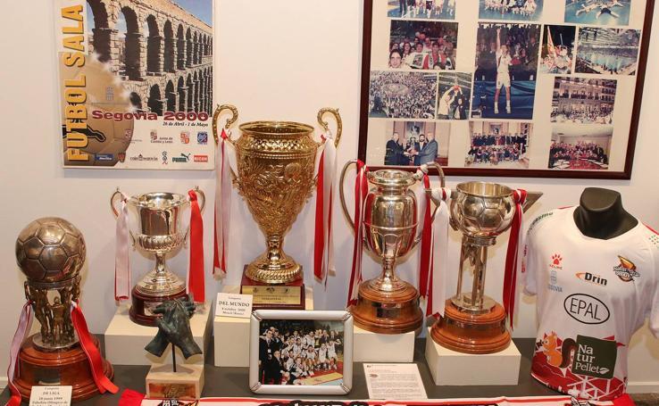 La exposición 'Leyendas del Deporte' aterriza en Segovia