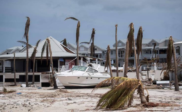 El devastador paso del huracán Irma por Florida