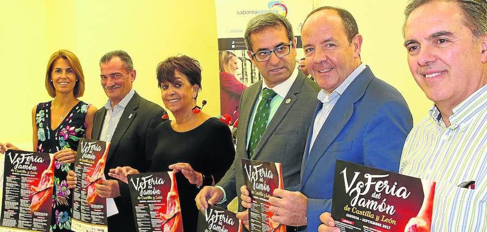La organización de la Feria del Jamón espera superar los 20.000 visitantes