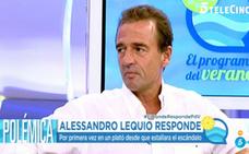Alessandro Lequio ataca duramente a Belén Esteban