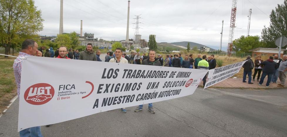 Los últimos mineros salen a la calle para exigir la compra de carbón nacional y un empleo estable