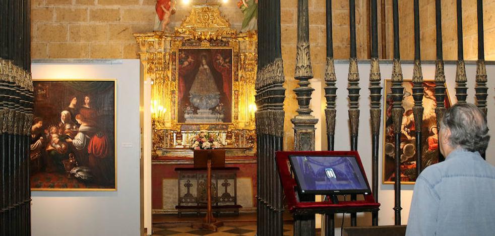 La Cofradía de la Fuencisla restaura diez lienzos de la patrona y los exhibe