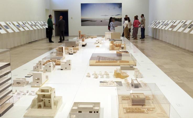 Exposición del arquitecto Alberto Campo Baeza en el Museo Patio Herreriano de Valladolid