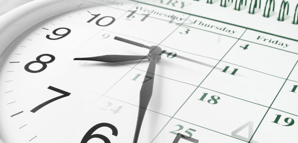 El calendario laboral de 2018 incluye dos festivos en sábado