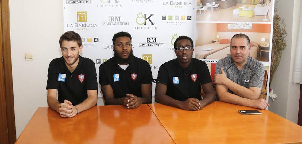 El Baloncesto Venta de Baños incorpora tres jugadores a la plantilla