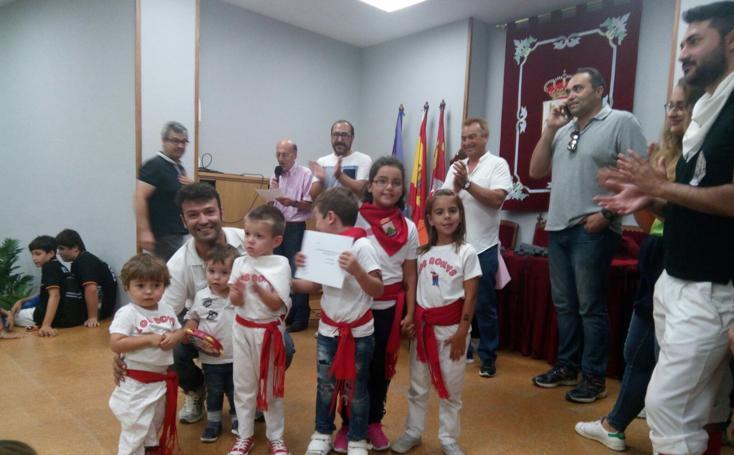 Entrega de premios del concurso de faroles infantiles de Tordesillas