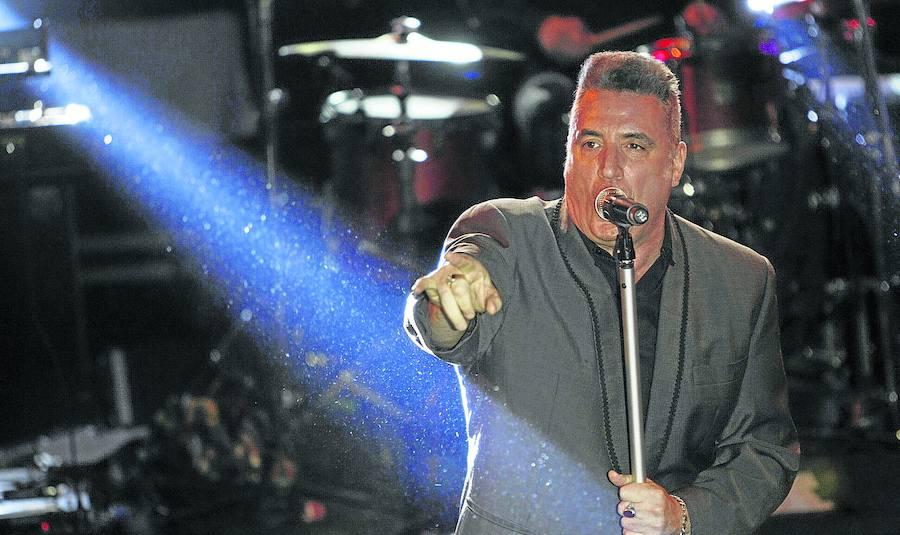El concierto de Loquillo cerrará esta noche el programa de fiestas de 2017