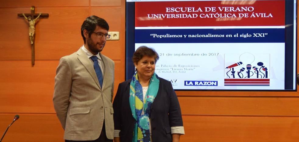 Un curso debatirá en Ávila sobre nacionalismo y populismos