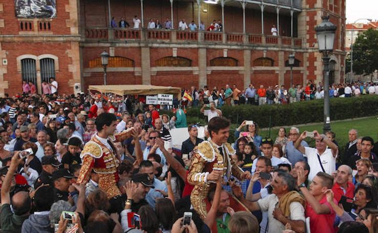 Tarde triunfal para El Juli y Álamo en Salamanca