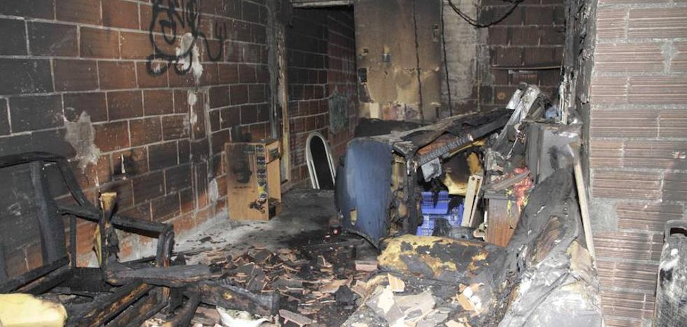 Incendio en un local juvenil de Peñafiel