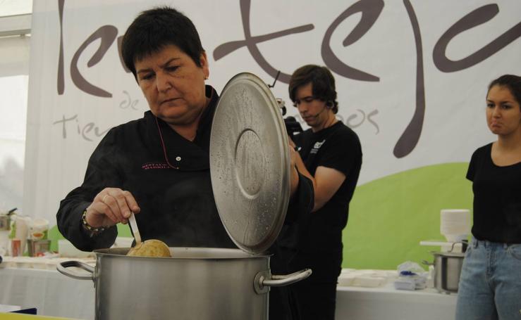 Mayorga celebra la VI Feria de la Lenteja