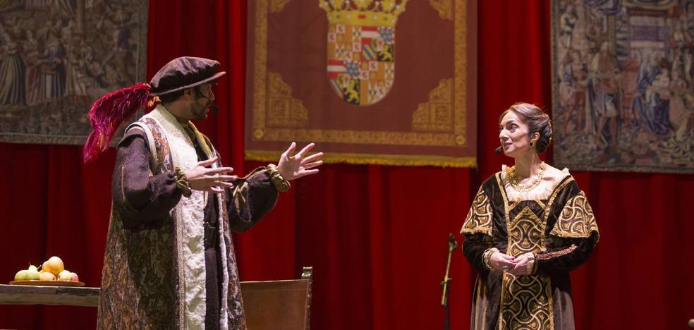 Valladolid vuelve a 1517 para recibir a Carlos V