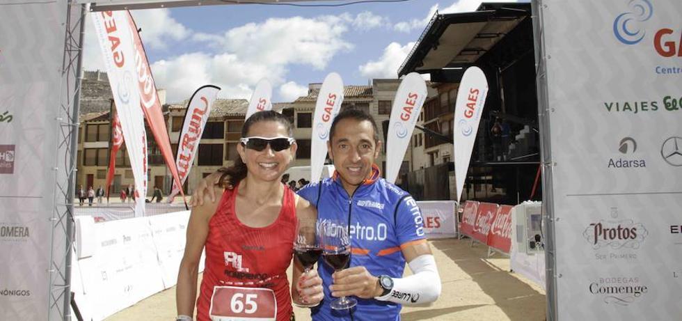 La primera Ribera Run Race para Pedro José Hernán y Carmen María Pérez
