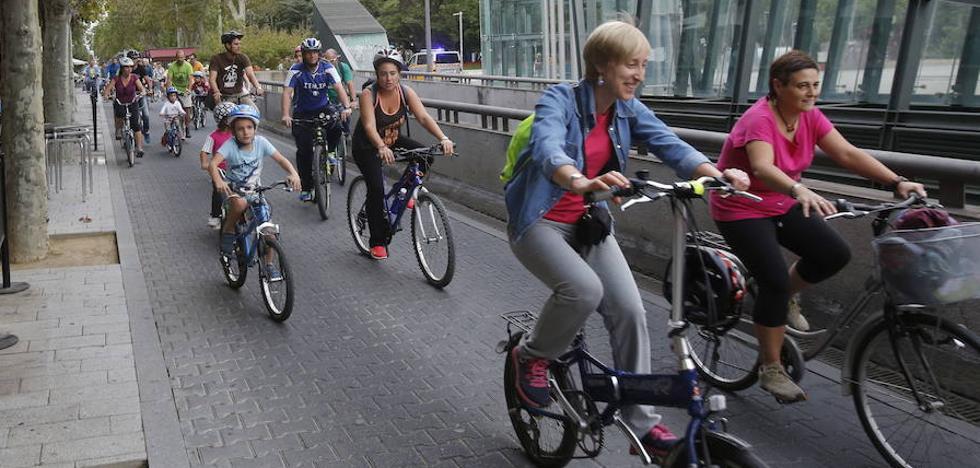 El Día Sin Coche pretende impulsar el uso de la bici en Palencia