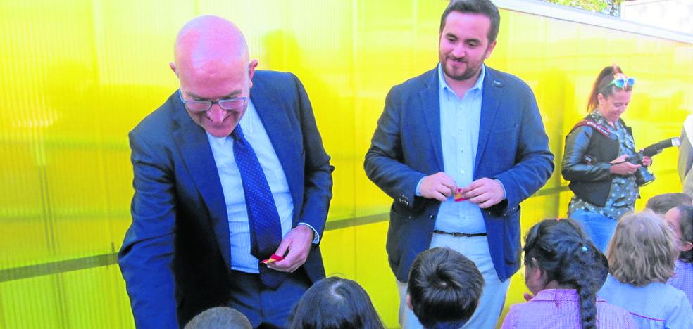 Villalón estrena una escuela infantil con plazas para 30 niños de 0-3 años