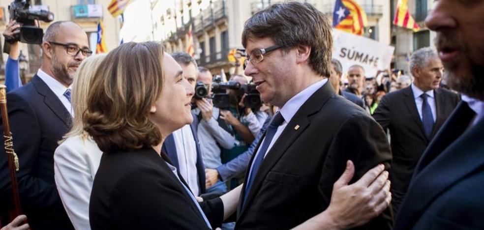 Puigdemont replica a Rajoy: «No subestime la fuerza del pueblo de Cataluña»