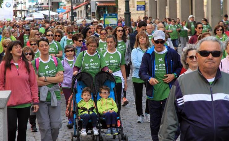 Marcha Contra el Cáncer en Segovia