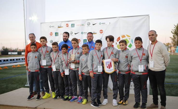 la Copa Tormes de Fútbol 7 celebrada en Santa Marta de Tormes