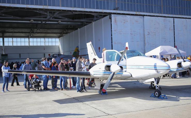 Jornadas de Puertas abiertas en la base aérea de Matacán