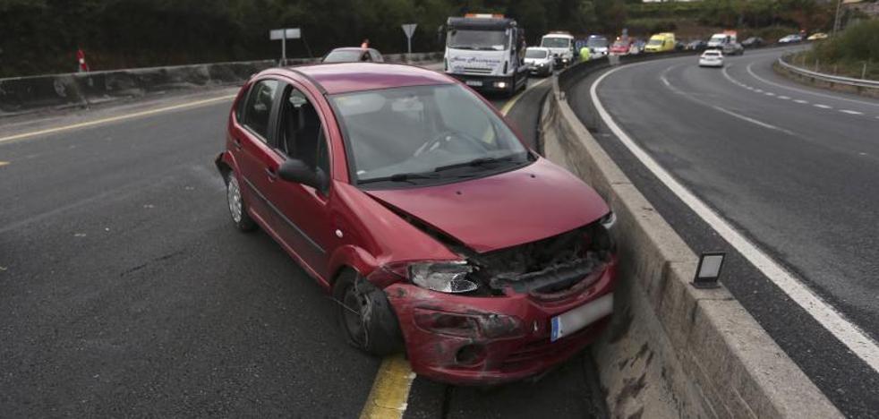 Mueren nueve personas en las carreteras durante el fin de semana