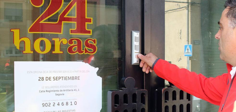 Desde 2008 han cerrado más de un tercio de las oficinas bancarias de Segovia