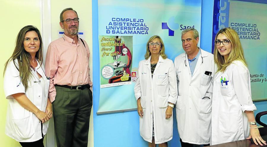 El 60% de los pacientes ingresados tiene al menos un antibiótico puesto a diario