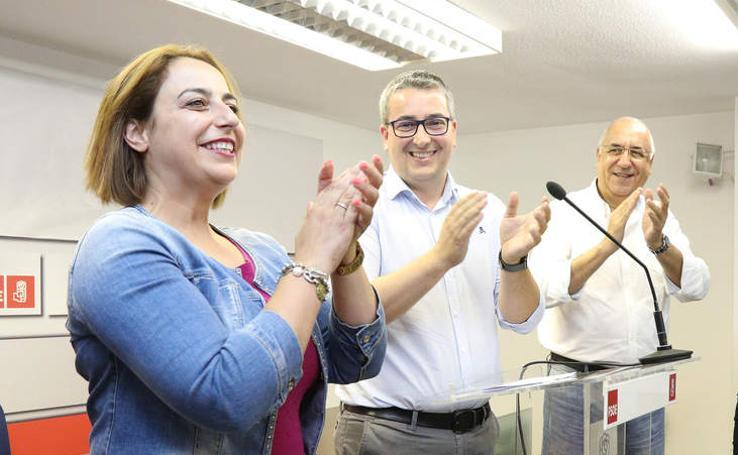 Miriam Andrés se impone en las primarias del PSOE en Palencia