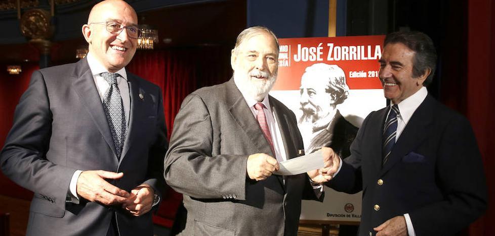 El V Premio de Poesía José Zorrilla recompensa la visión «madura y melancólica» de Van-Halen