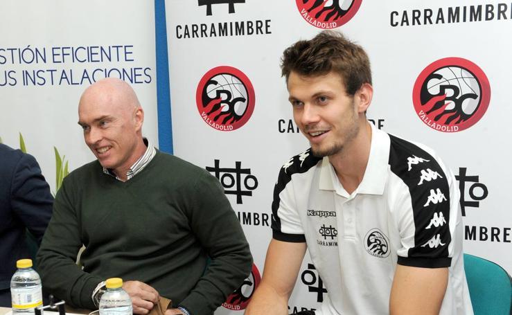 El Carramimbre CBC Valladolid presenta a Max Hopfgartner