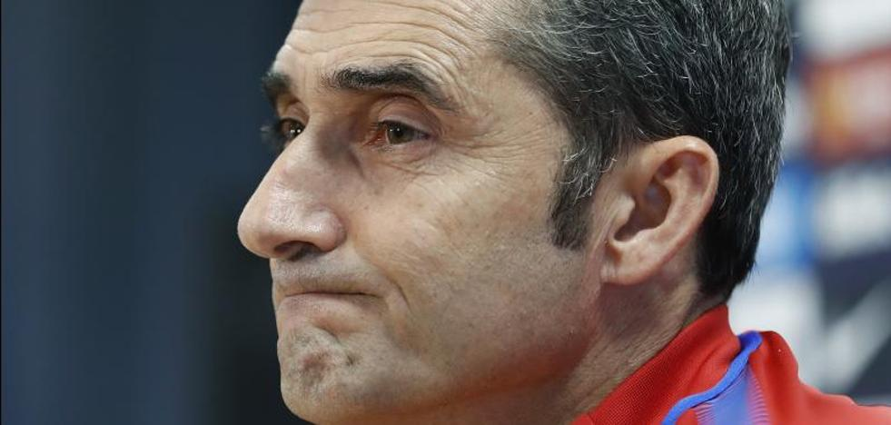 Valverde: «Un jugador veterano no hubiera hecho el gesto que hizo Dembélé»