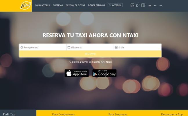 El taxi reacciona y lanza un app para compartir trayectos