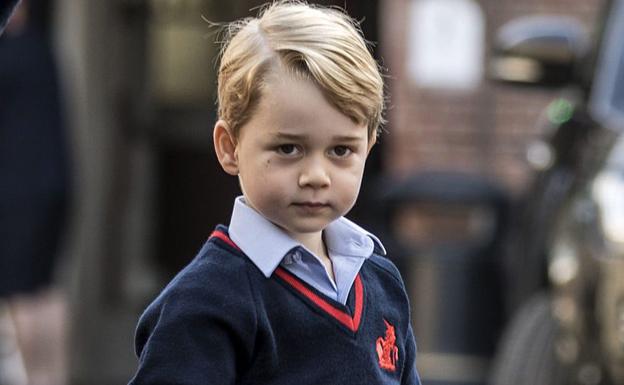 Una ladrona se cuela en el colegio del príncipe Jorge de Cambridge