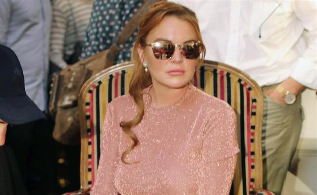 Lindsay Lohan protagoniza la Semana de la Moda de Madrid