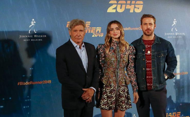 La presentación de 'Blade Runner 2049', en imágenes