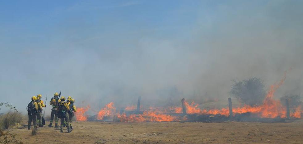 Las Brigadas de Refuerzo en Incendios Forestales convocan huelga