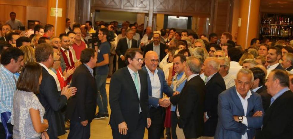La Junta Directiva del PP de Valladolid rinde homenaje a Villanueva en su inicio del curso político