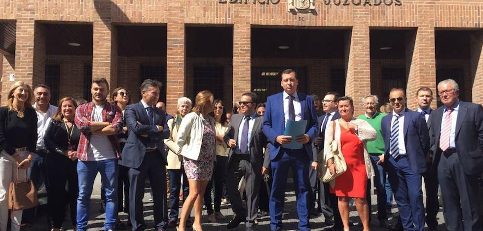 Medina reclama un tercer juzgado