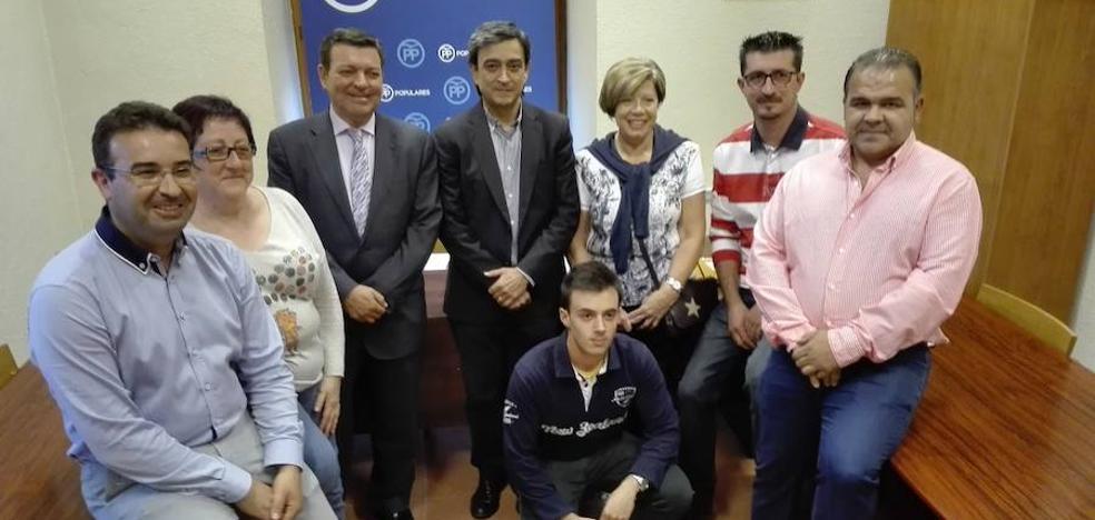 Agapito Hernández revalida la presidencia de la Junta Local del PP de Peñafiel