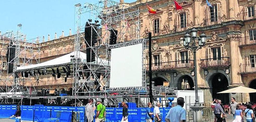 Piden un informe sobre la incidencia de los conciertos en la Plaza Mayor
