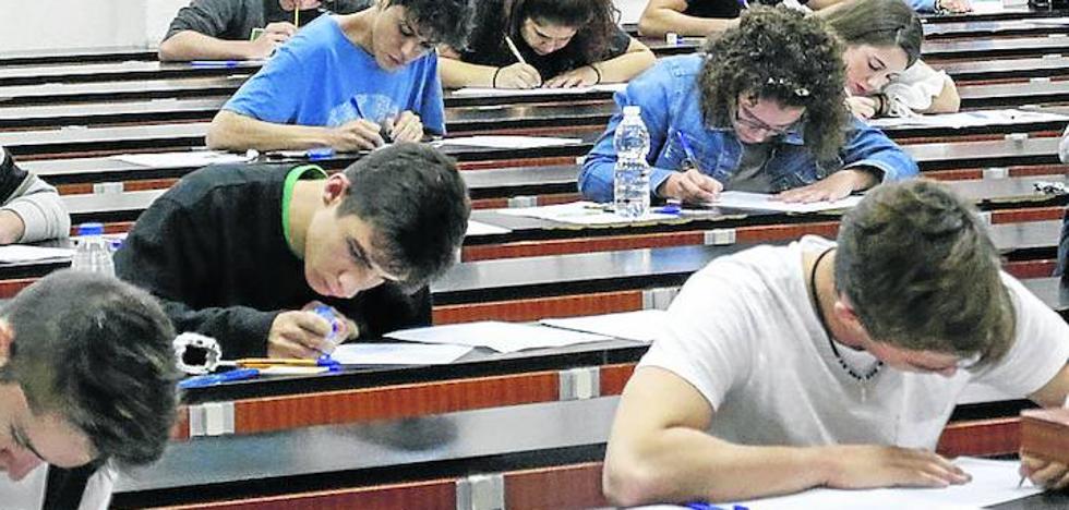 El 78% de los estudiantes aprobó los exámenes de laselectividad de septiembre