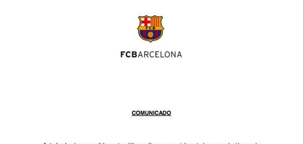 El Barcelona defiende «el derecho a decidir»