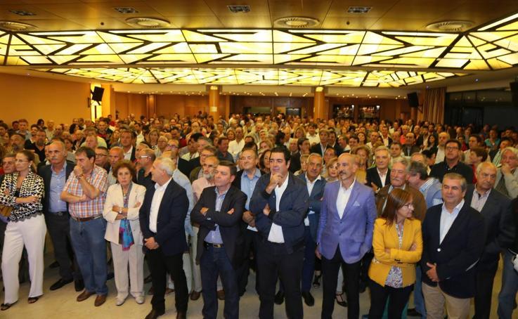 El PP de Valladolid inicia el curso político con un homenaje a Tomás Villanueva