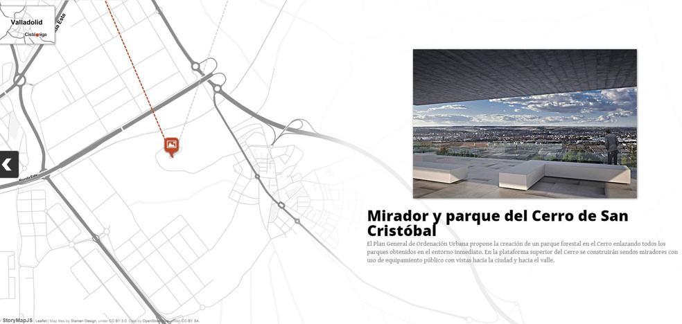 Descubre en este mapa interactivo cómo será Valladolid con el nuevo PGOU