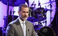El discurso de Don Felipe en la gala del quince aniversario de Vocento