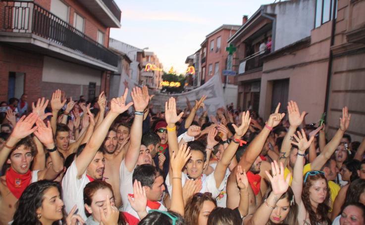 Fiestas en Nava de la Asunción (Segovia)