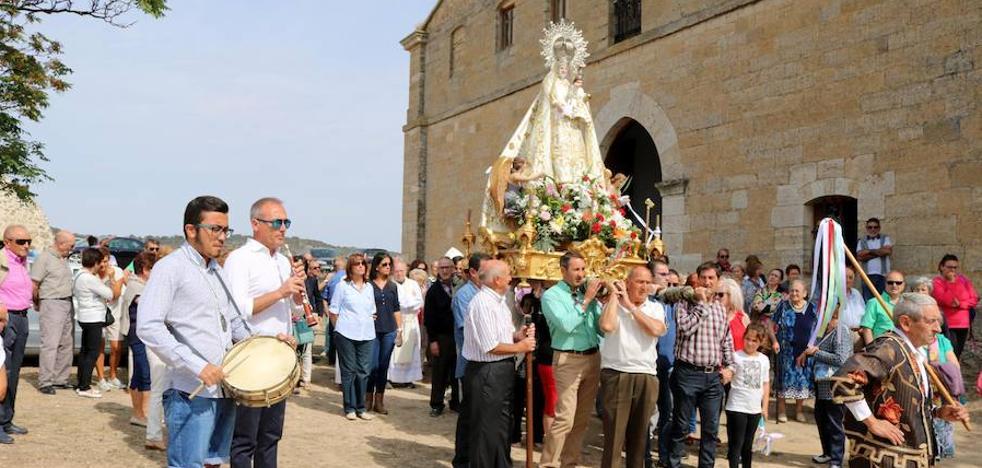 Torquemada celebra una multitudinaria romería en honor de Valdesalce