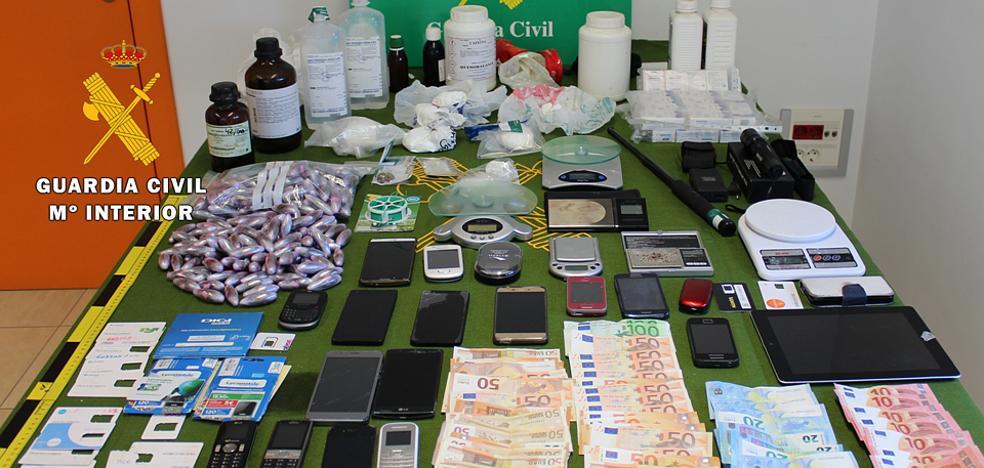 Desarticulada una banda dedicada al tráfico de drogas en Burgos y Vizcaya