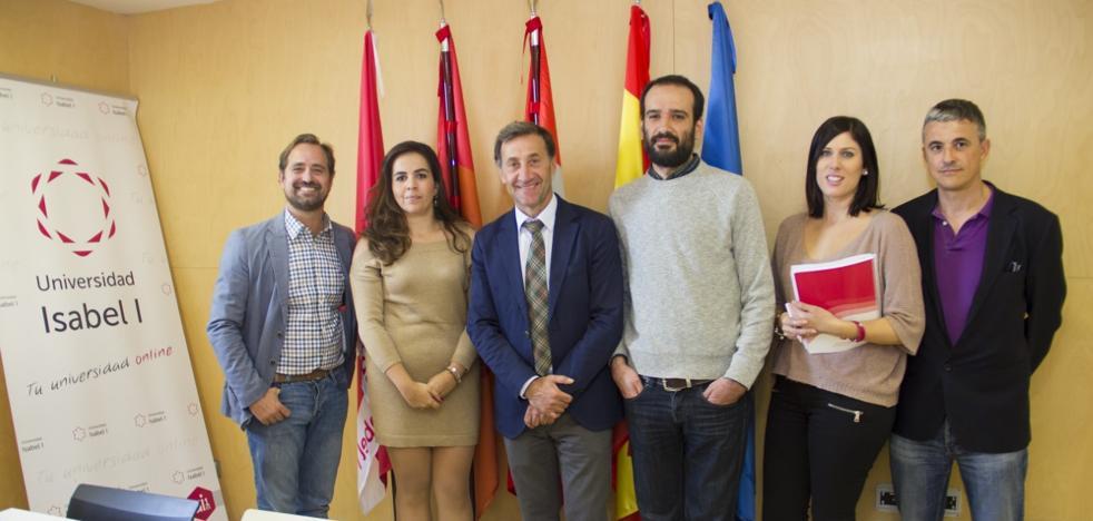 La Universidad Isabel I y la AJE buscan posibles vías de colaboración