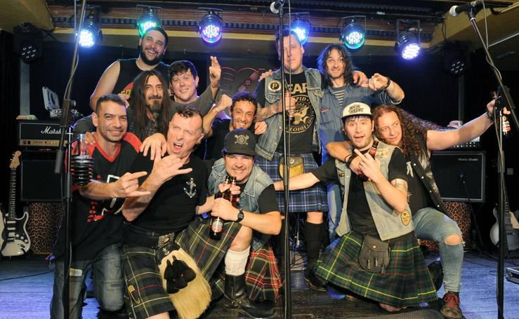 The Real McKenzies en la sala Porta Caeli de Valladolid