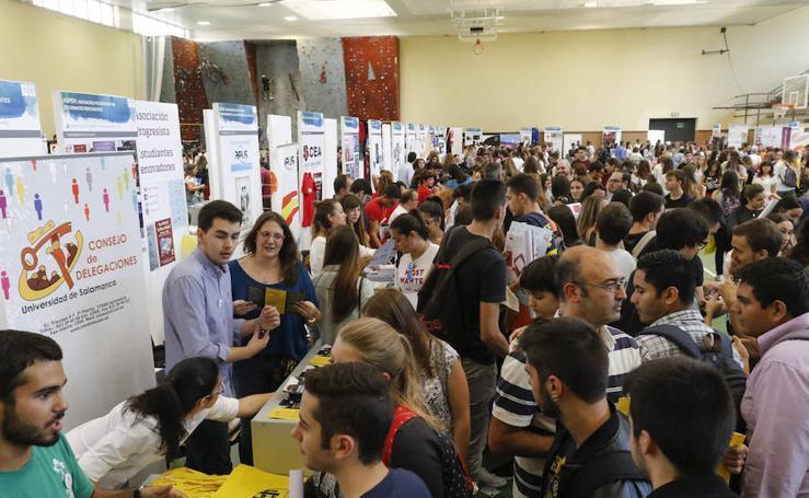 Feria de Bienvenida en la Universidad de Salamanca